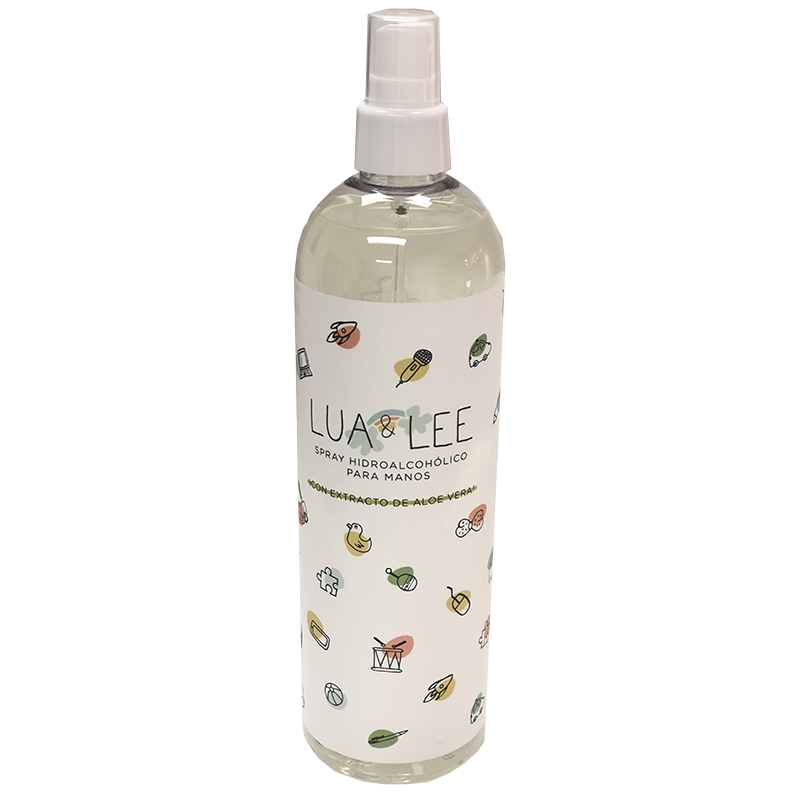LUA LEE SPRAY HIDROALCOHÓLICO  500 ML