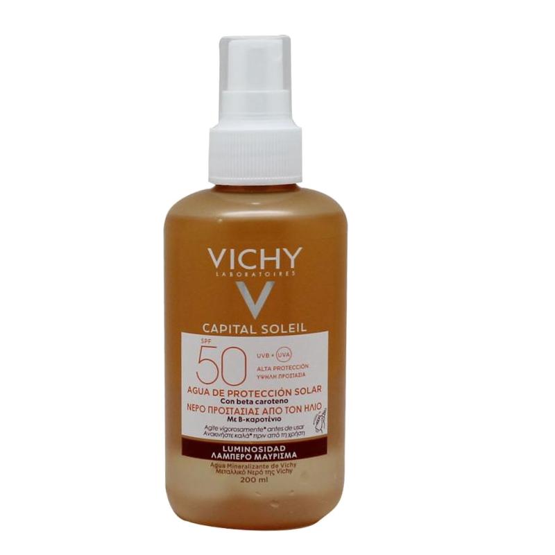 VICHY IDEAL SOLEIL LUMINOSIDAD SPF50 200ML