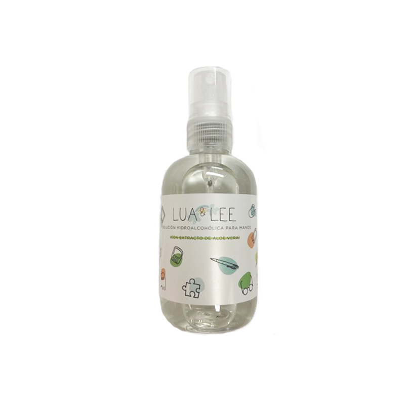 LUA LEE SPRAY HIDROALCOHOLICO CON ALOE VERA 100ML