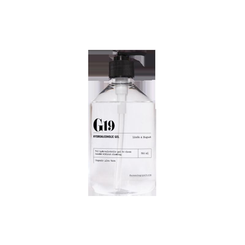 G19 GEL HIDROALCOHÓLICO LIMON Y MUGUET 500 ML
